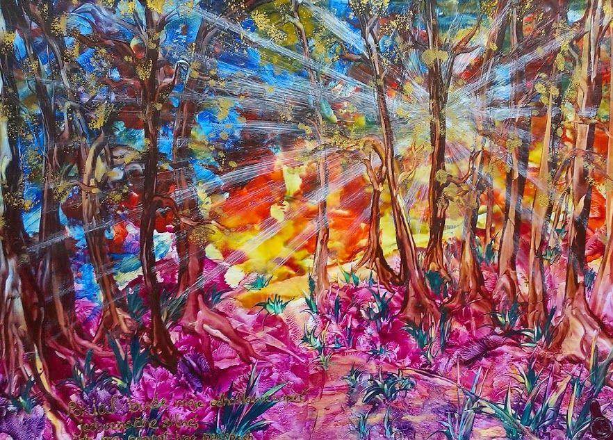 Motivacny les pre Lukyho Obraz