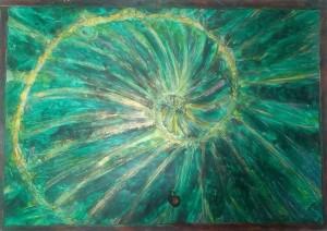 Obraz Zlaty rez Fibonacciho spirala1