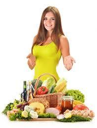 výživa ženy
