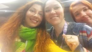 Lenka a Monika Batkova a Petka
