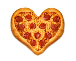 pizza srdce